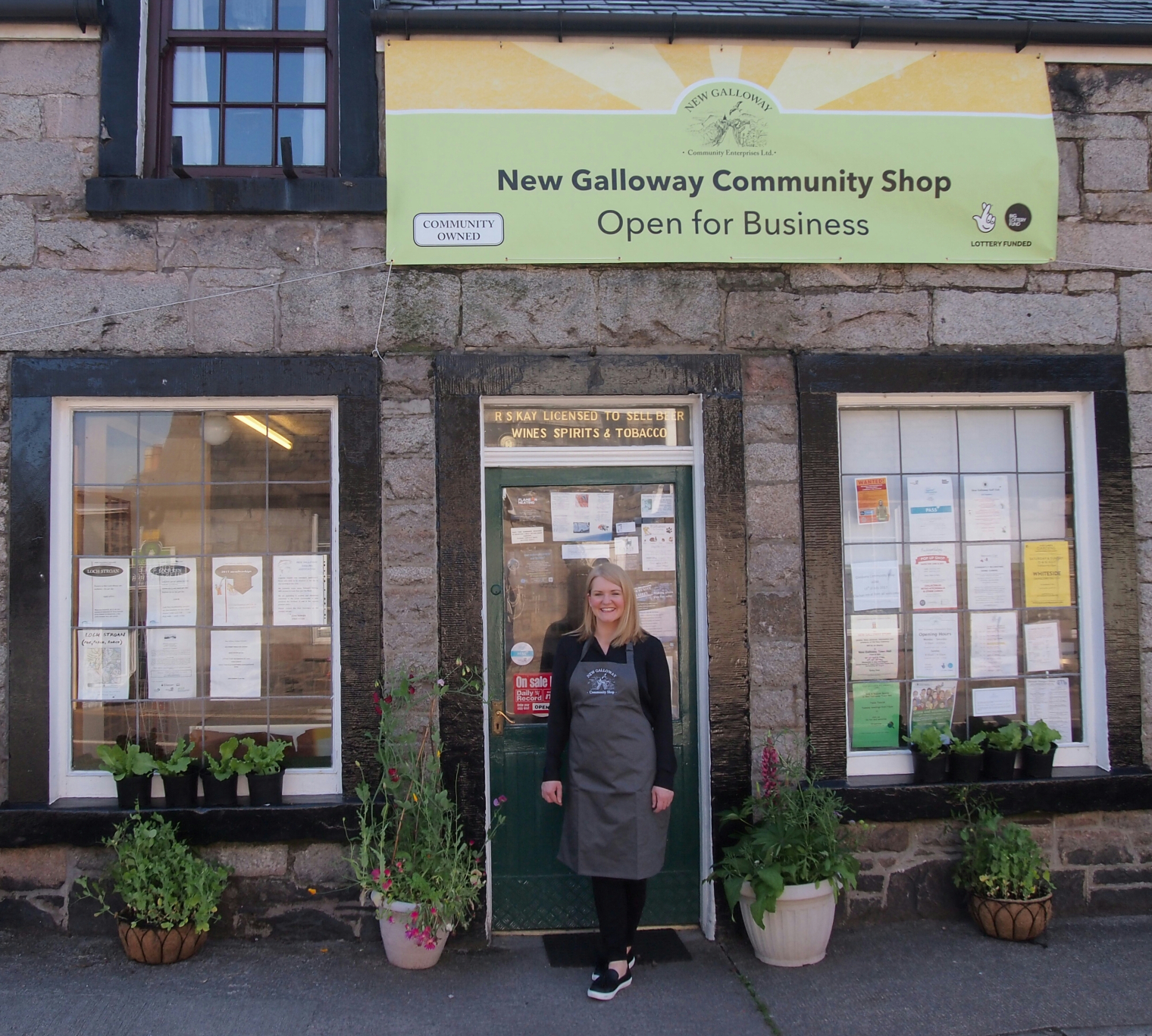 New Galloway Shop